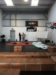 The calm before the storm in Crossfit West Dublin
